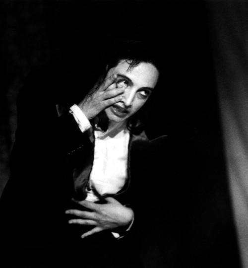 laudia Contin Arlecchino in Il comportamento Ridisegnato. Credit: Gianfranco Rota.